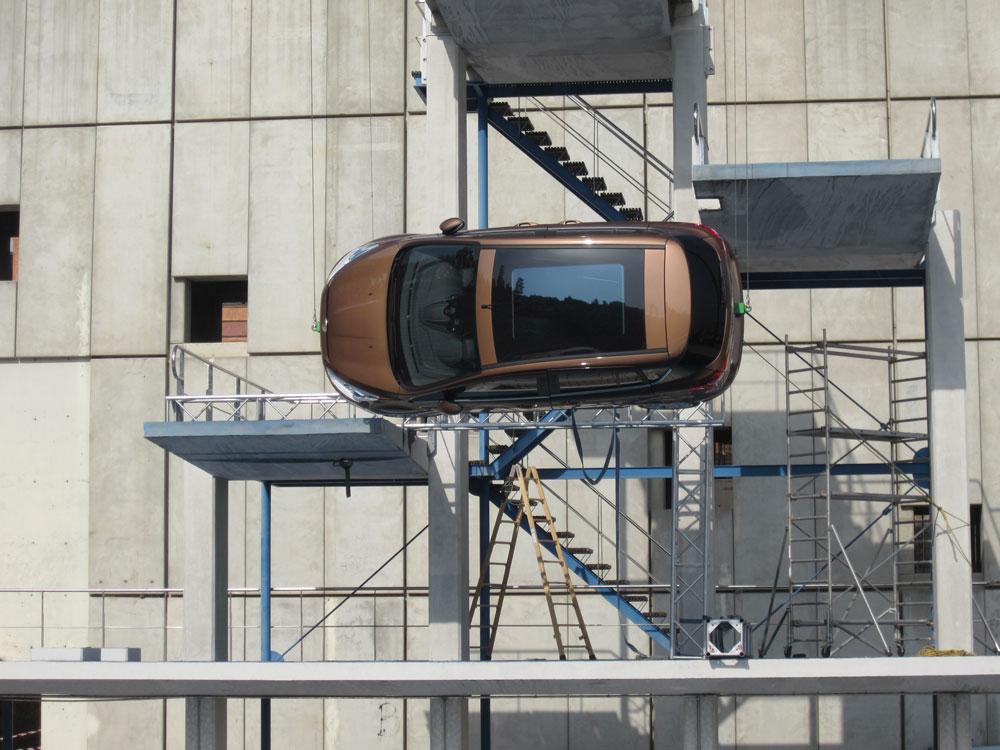 Rodaje Ford B-Max en decorado