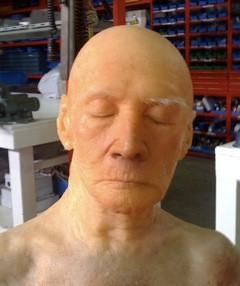 Anciana Muerta Rostro