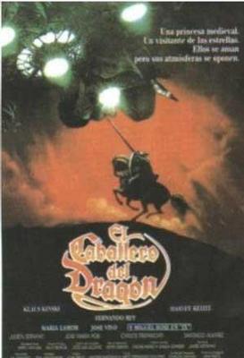 """Primer premio en Portugal por """"El caballero del dragón"""" (1986)"""