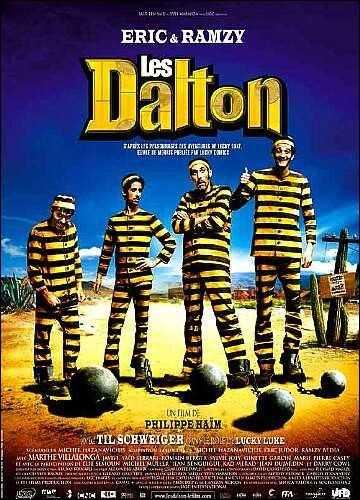 Los Dalton contra Lucky Luke