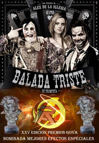 """Nominación Goya """"Balada triste de trompeta"""" (2011)"""