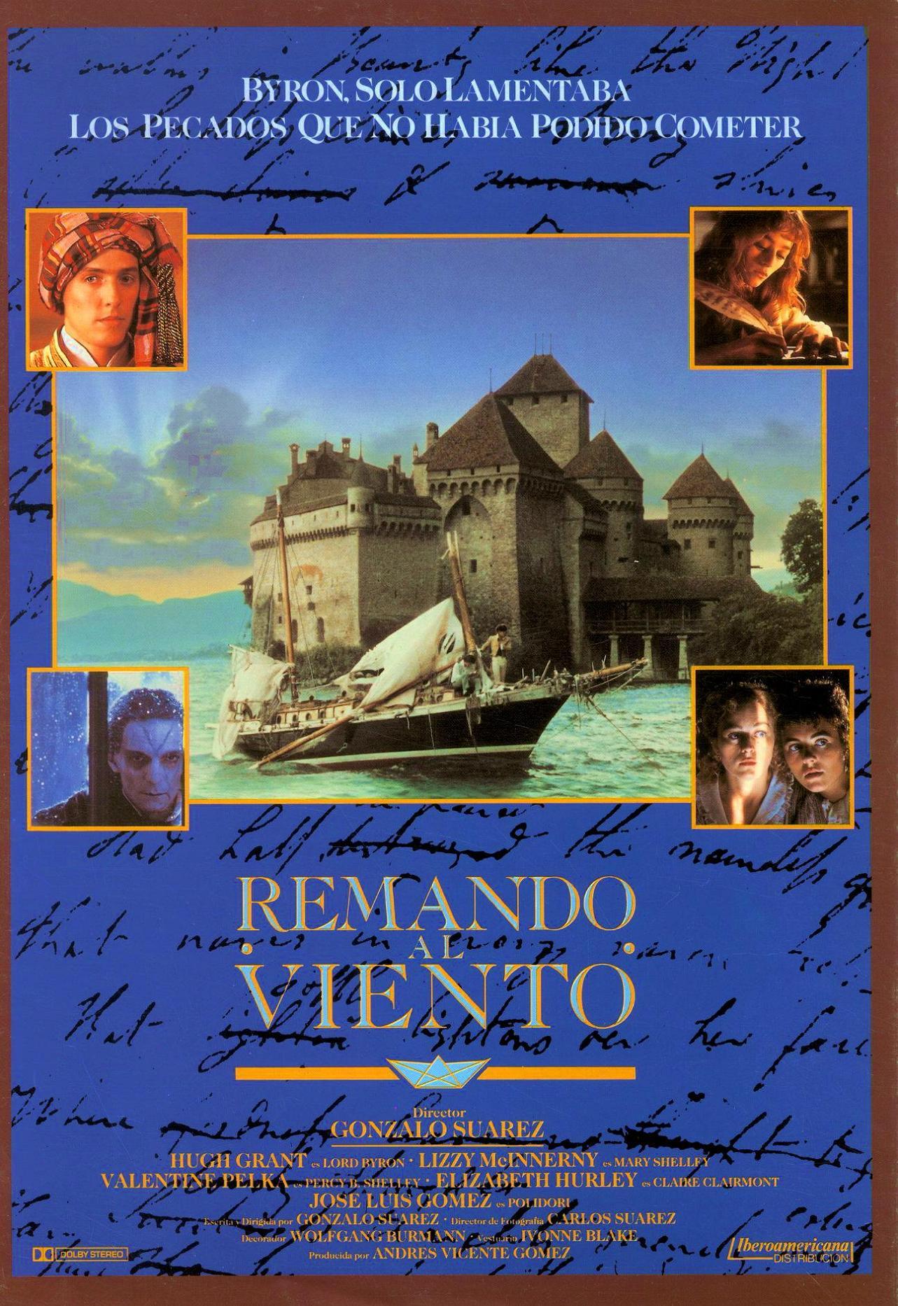 """Nominación Goya """"Remando al viento"""" (1989)"""