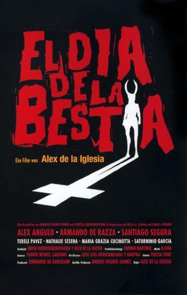 """Nominación Goya """"El día de la bestia"""" (1996)"""