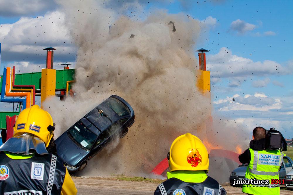 Simulacro de catástrofes 2011