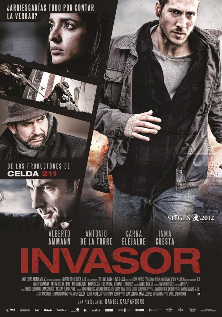 "Cartel de ""Invasor"""