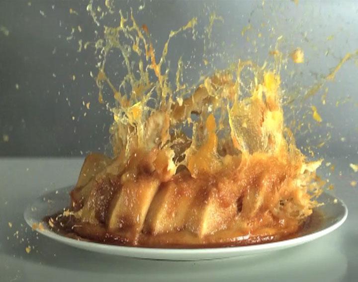 Efecto explosión de alimentos