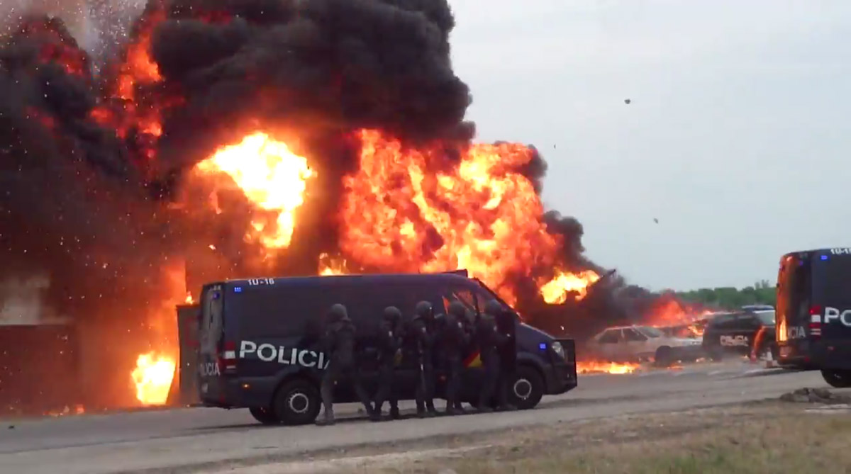 Simulacro XXIII Jornadas Municipales Catástrofes 2016